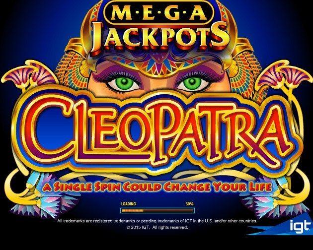 ジャックポットがもうすぐ2億!IGT社「Cleopatra(クレオパトラ)」のレビュー