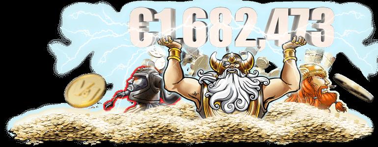 0.4ドルベットでジャックポット1,682,473ドル(約2億円)獲得!