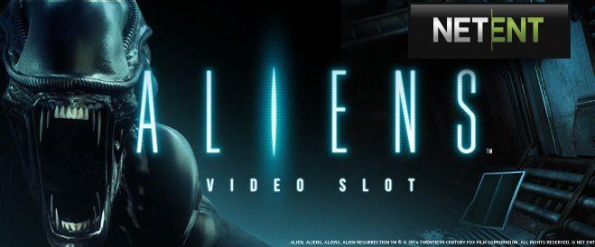 """ビデオスロット""""Aliens""""のレビュー"""