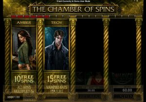 The chamber of spins フリースピン