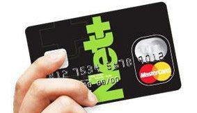 Neteller支払いカード写真