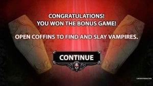 Bloodsuckers Bonus Game